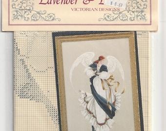 Sewing Before A Window~counted cross stitch pattern #1555~Fine Art Graph Chart