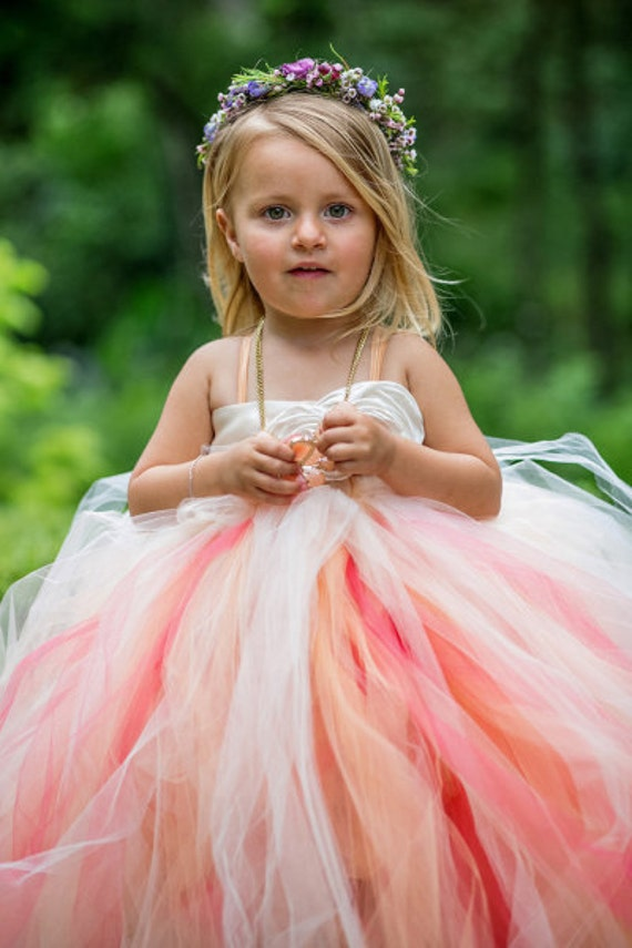 Flower Girl Dress Custom Design Your Own Flower Girl Tutu Etsy
