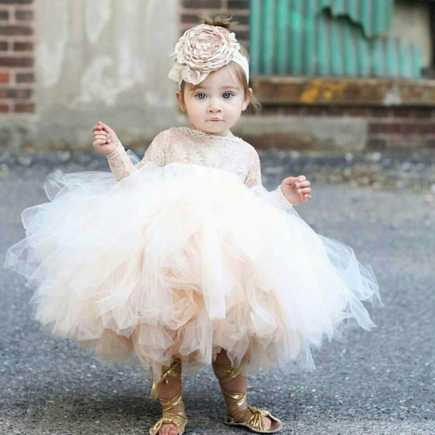 5aea17c813 Shelby Lace flower girl dress
