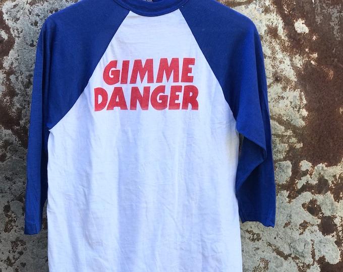 Gimme Danger 70s Stooges Deadstock Baseball Tee L