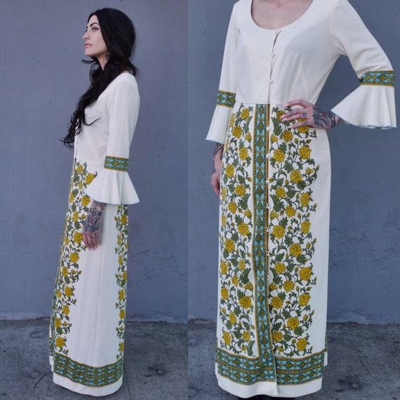 Alfred Shaheen Hawaii Vintage Maxi Dress