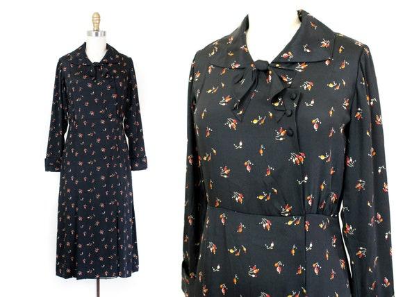 1930s dress // Rosehips and Nutmeg vintage 1930s b