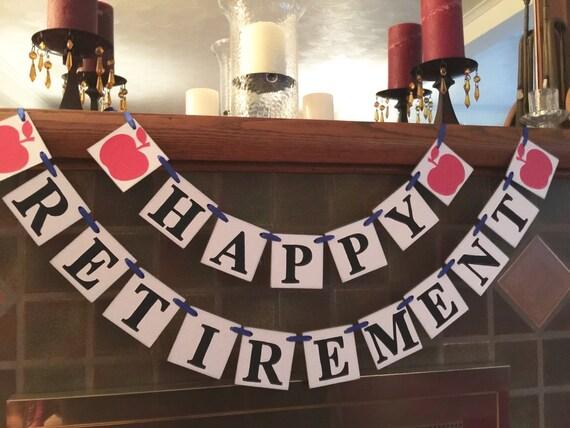 teacher retirement party banner retirement banner teacher