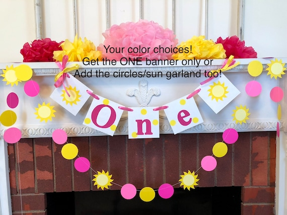 You Are My Sunshine Birthday Decorations Babys 1st Birthday