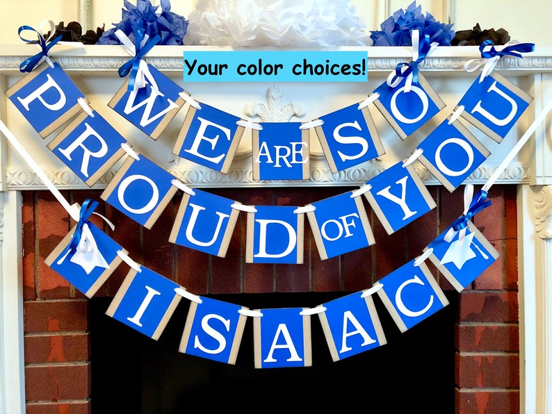 2019 Graduation Party Decorations We Are So Proud Of You Etsy