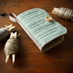 Wool Felt Needle Book Case Organizer ø Rainstorm ø LoftFullOfGoodies ø Stocking Stuffer ø Holiday Gift