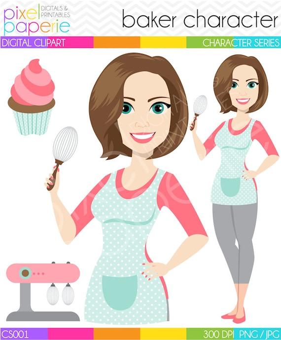 Cupcake baking woman stock illustration. Illustration of baked - 43597797