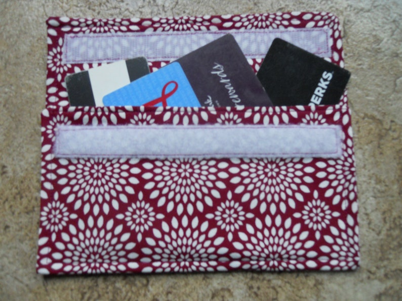 SMALLER Coupon Holder Organizer  Receipt Appointment Gift Card Holder