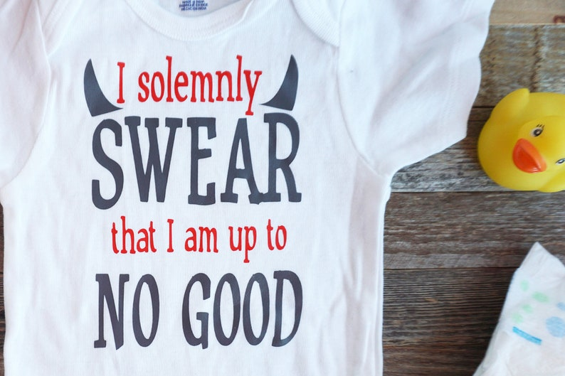 cc8789962 I solemnly swear that I am up to no good onesie Harry Potter | Etsy