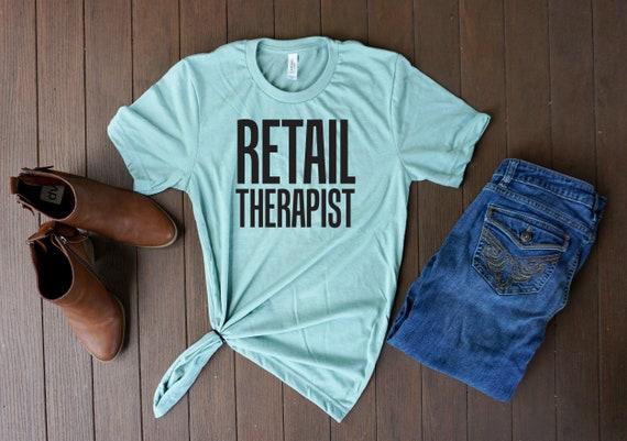 Einzelhandel Therapeut Tshirt T Shirts Mit Lustigen Sprüchen Sarkastische Hemd Shirts Für Erwachsene Lustiges Shirt Grafik T Shirt