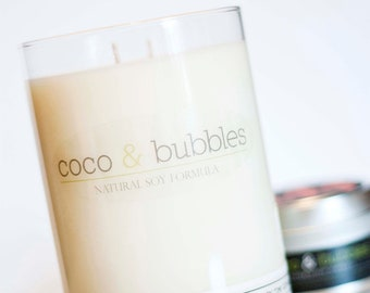31 oz. All Natural Soy Candle // Pick Your Scent