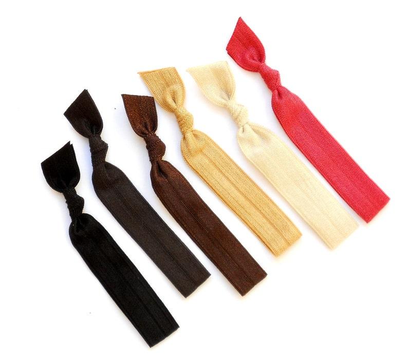 Bobbi Brown  6 Comfort Elastic Hair Ties / Bands / Bracelets image 0