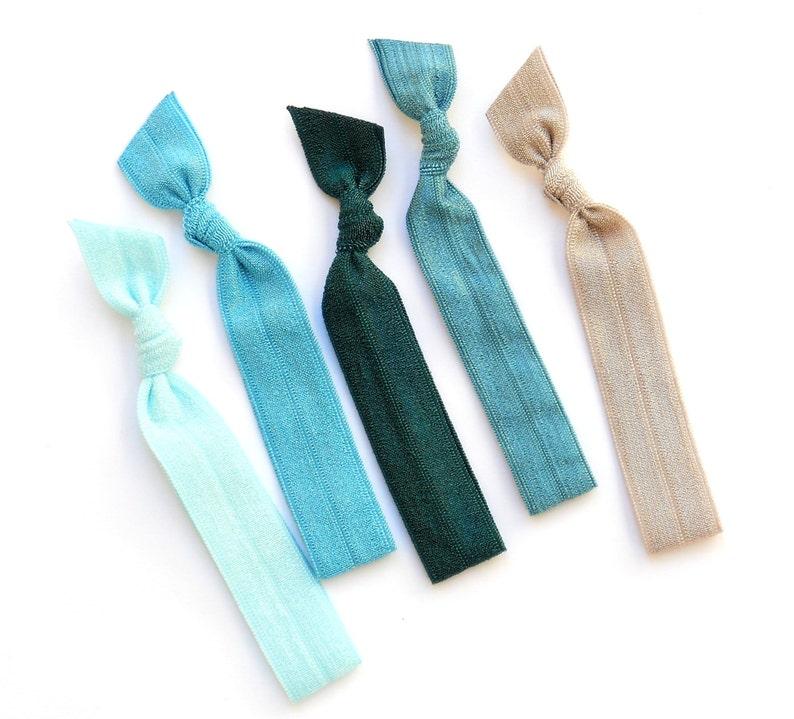 Neptune  5 Comfort Elastic Hair Ties / Bands / Bracelets image 0