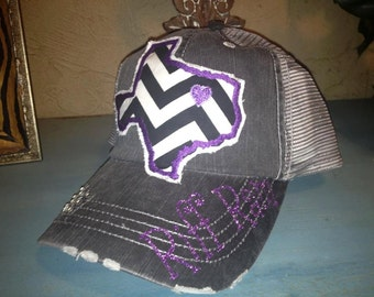outlet store 926e3 dab87 france mens top of the world charcoal tcu horned frogs vault ploom trucker  snapback adjustable hat 61183 5c595  new style tcu texas christian  university ...