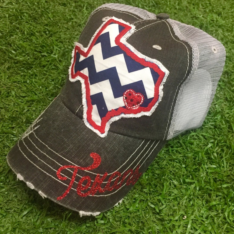 1da0788f94cd4 Houston Texas Football Texans Baseball Bling Ladies Womens HAt
