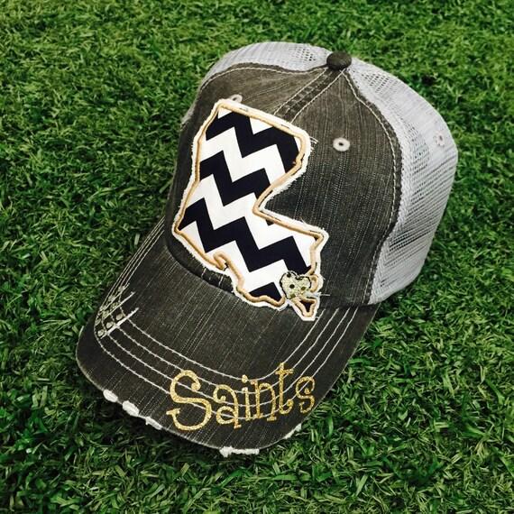new orleans saints women's hats