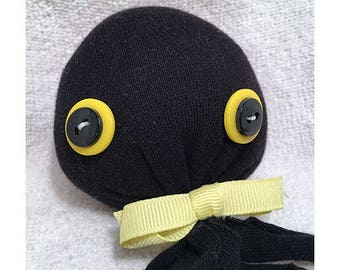 Black and Yellow Octopus