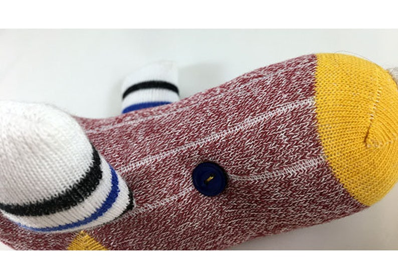 burgundy and yellow Narwhal