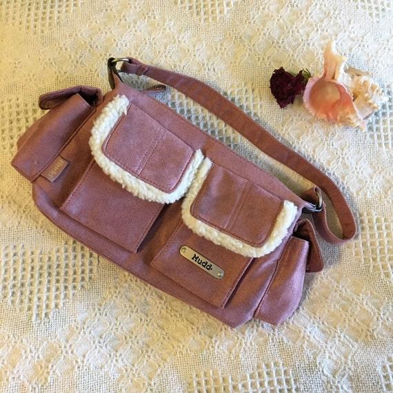 62cc234399d9 Rose Handbag Vintage Mudd Designer Bag With 4 Outer Flap
