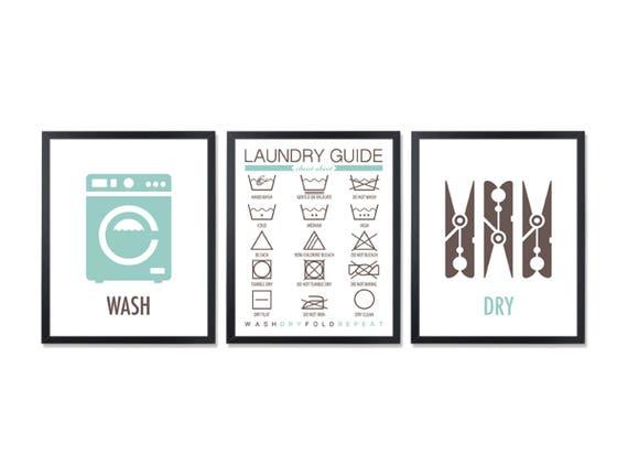 housekeeping waschsymbole zimmer dekor w sche zeichen dass. Black Bedroom Furniture Sets. Home Design Ideas