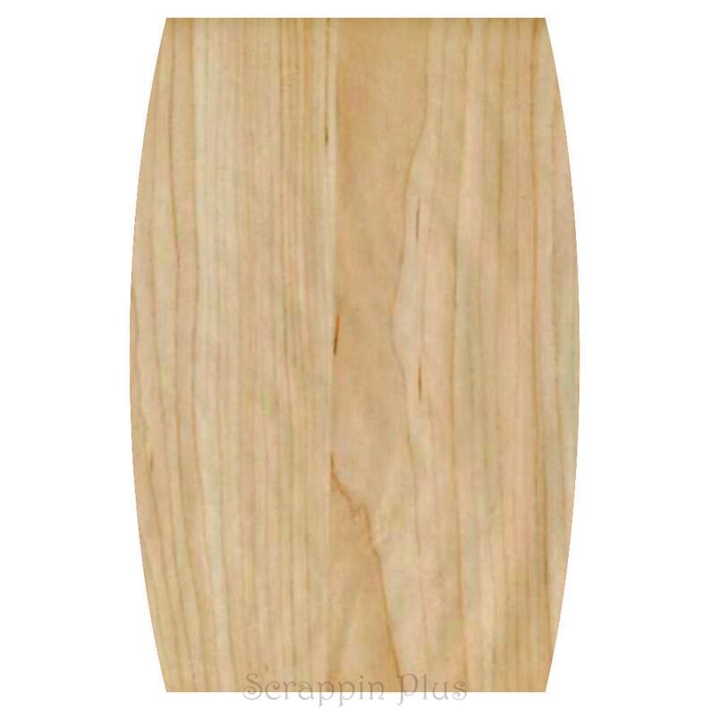 A4005 Barrel Shaped Wood Cutting Board