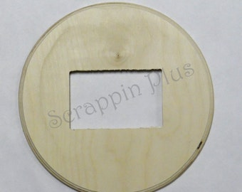 Circle Picture Frame