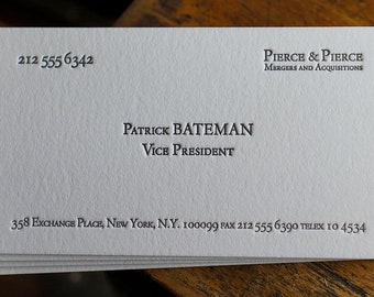 Patrick Bateman Etsy