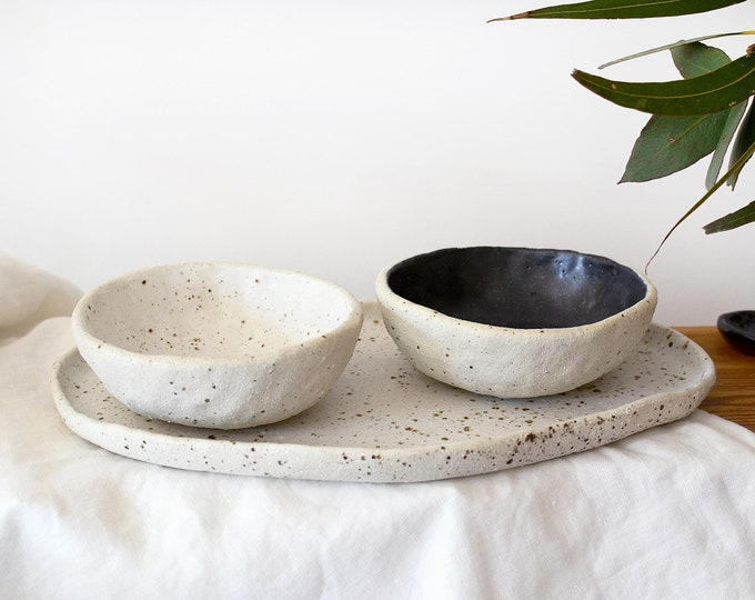 Small Bowls & Tray Set | Serving Set