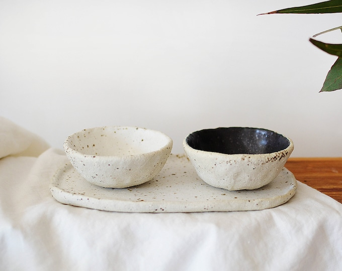 Mini Bowls & Tray Set  | Serving Set