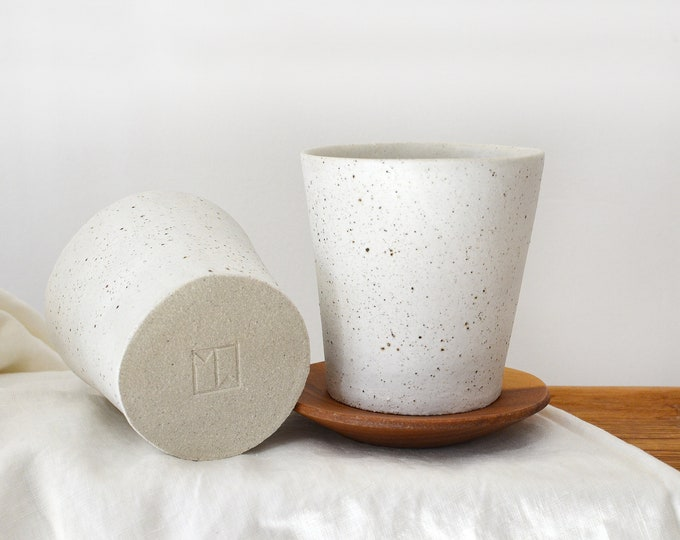 Ceramic Tumbler | Latte + Coffee Cup | Tea Cup
