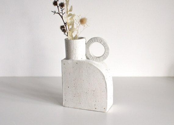 "SOLEIL Arched Ceramic Vase | Vessel |  15cm (6"") tall"