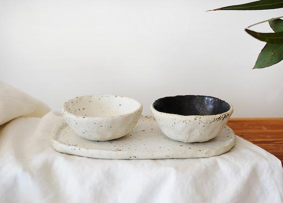 Mini Bowls & Tray Set  | Serving Set