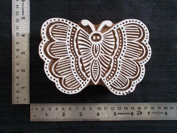 TYFYP 15 % de réduction d impression gros papillon indien bloc timbre d  impression ... c4ecbf10701