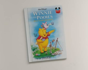 Winnie the Pooh's Most Grand Adventure Notebook - Handmade Disney Notebook