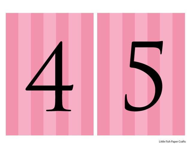 picture about Printable Numbers 0-9 named Printable Victoria Solution influenced banner - purple stripes