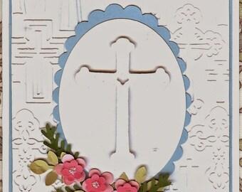 Crosses Darice Embossing Folder