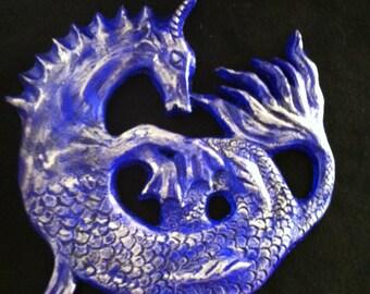 Seahorse Sculpture - choose color