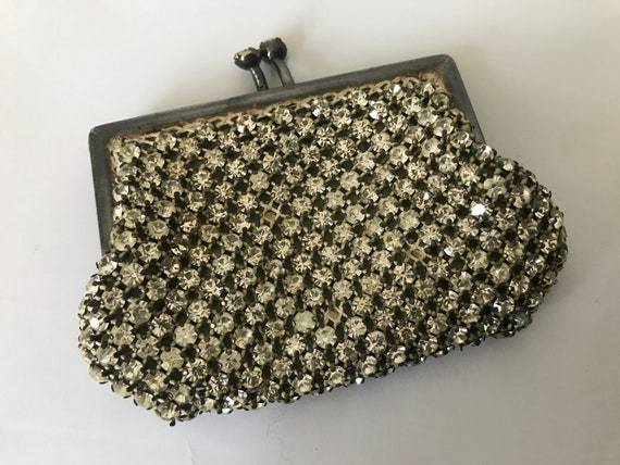 Vintage Swarovski | coin purse | crystals | wallet | atelier | antique | cute | little purse | pouch | collectors item | glamour | Austria