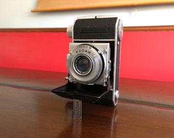 Vintage Kodak Retina I 1940s Folding Camera Kodak Retina 1 Type 010  With fold out Lens and Leather Case