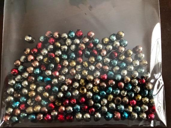 Bulk Christmas Garland.Vintage Mercury Glass Beads Christmas Garland Mercury Glass Loose Beads Multi Color Mercury Glass Beads Bulk Bags 1 3 Cup