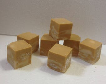 Lemon and Lavender caffeine handmade soap geekery tallow traditional lard soap