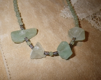 """31. Fluorite ~a """"Throwing Stones at Glass Hearts"""" NECKLACE!"""