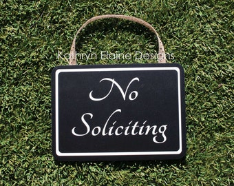 No Soliciting Sign Rectangle, No Solicitation Sign