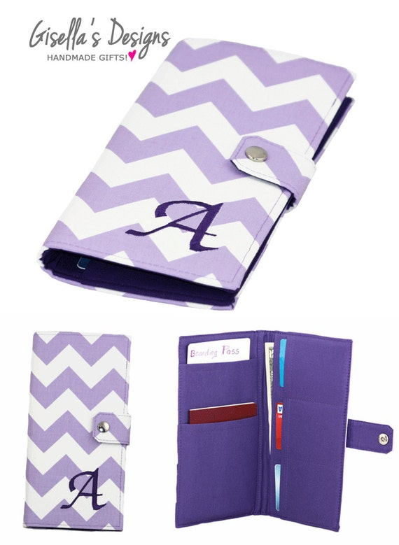 Passport Holder And Boarding Pass Case For Women And Family Travel