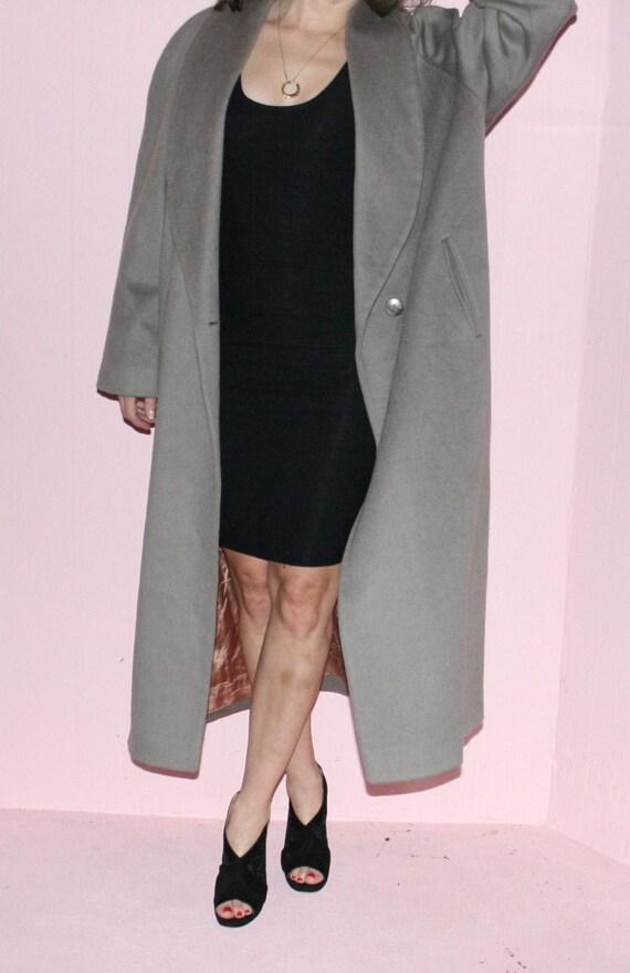 Wool Maxi Coat/ Kristen Blake/ Size 10/ Camel Max… - image 1
