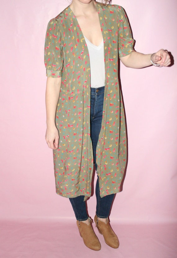 Kimono Silk Robe - image 5