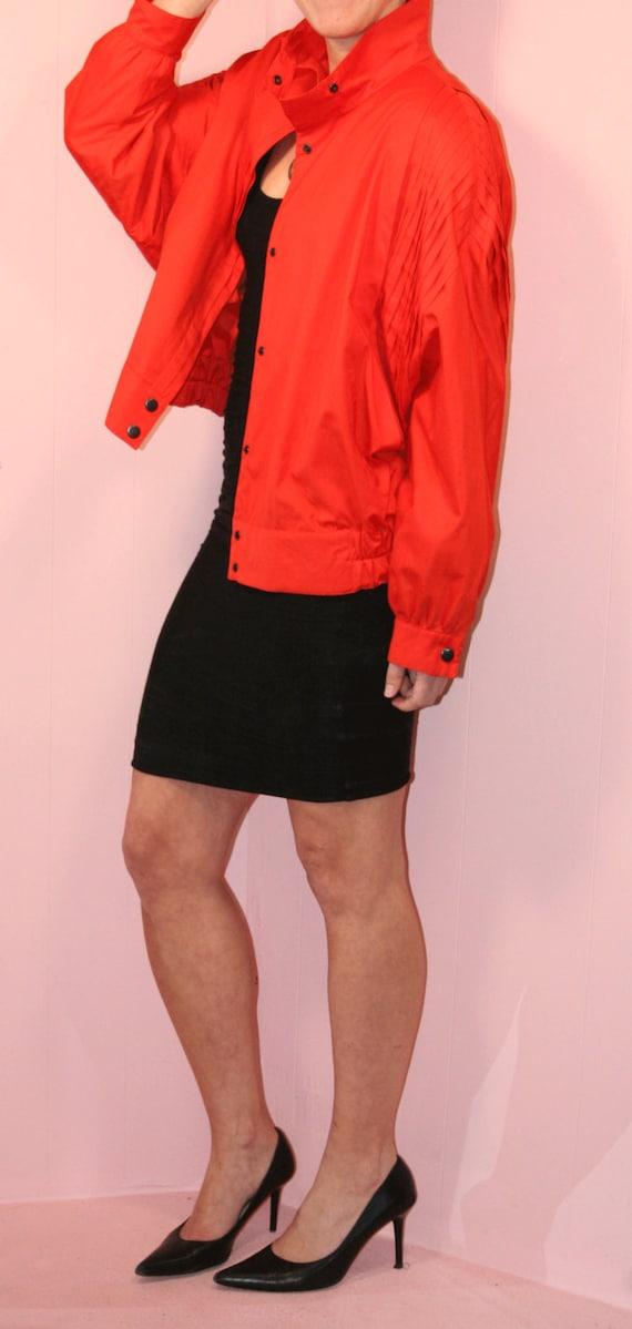 Orange Sport Jacket