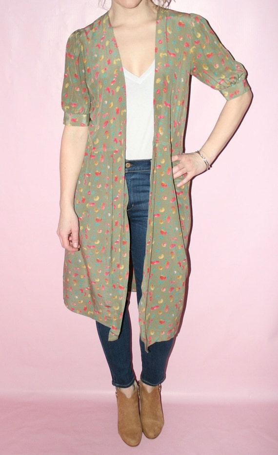 Kimono Silk Robe