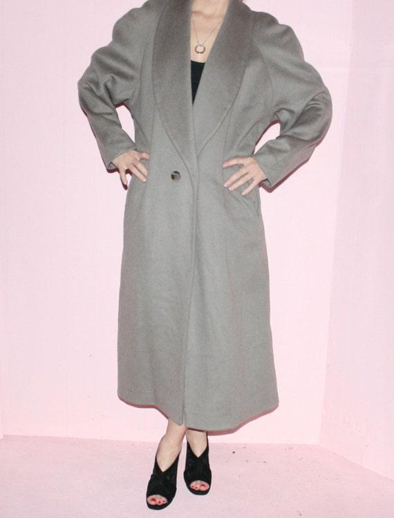 Wool Maxi Coat/ Kristen Blake/ Size 10/ Camel Max… - image 4
