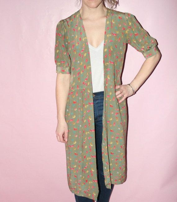 Kimono Silk Robe - image 3